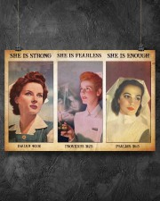 Nurse she is strong 36x24 Poster aos-poster-landscape-36x24-lifestyle-11