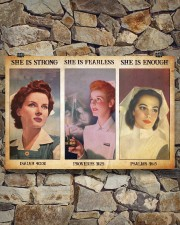 Nurse she is strong 36x24 Poster aos-poster-landscape-36x24-lifestyle-15