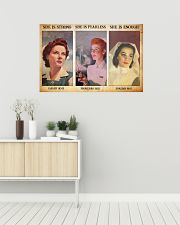 Nurse she is strong 36x24 Poster poster-landscape-36x24-lifestyle-01