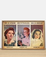 Nurse she is strong 36x24 Poster poster-landscape-36x24-lifestyle-03