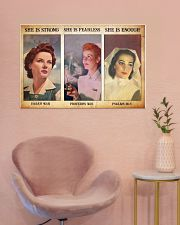 Nurse she is strong 36x24 Poster poster-landscape-36x24-lifestyle-19