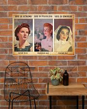 Nurse she is strong 36x24 Poster poster-landscape-36x24-lifestyle-20