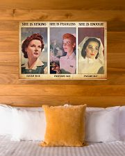 Nurse she is strong 36x24 Poster poster-landscape-36x24-lifestyle-23