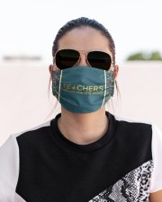 Teacher We get the job done Cloth face mask aos-face-mask-lifestyle-02