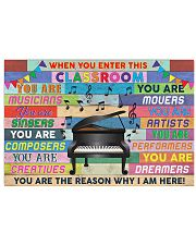 Music Teacher 36x24 Poster front