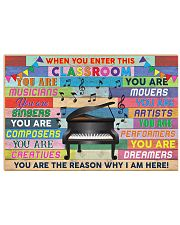 Music Teacher Horizontal Poster tile