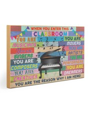 Music Teacher 30x20 Gallery Wrapped Canvas Prints thumbnail