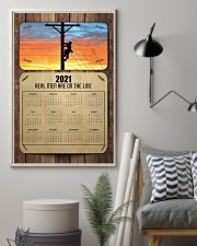 Lineman real men are on the lines 24x36 Poster lifestyle-poster-1