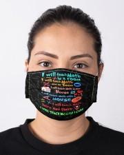 Teach317 I will teach math Cloth face mask aos-face-mask-lifestyle-01