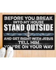 """NV Stand outside  Doormat 34"""" x 23"""" aos-doormat-34-x-23-lifestyle-front-03"""
