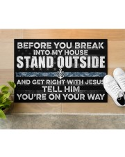 """NV Stand outside  Doormat 34"""" x 23"""" aos-doormat-34-x-23-lifestyle-front-12"""