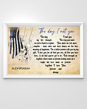 Police The day I met you 36x24 Poster poster-landscape-36x24-lifestyle-02
