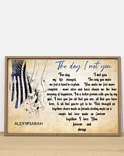 Police The day I met you 36x24 Poster poster-landscape-36x24-lifestyle-03