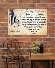Police The day I met you 36x24 Poster poster-landscape-36x24-lifestyle-20