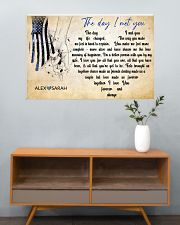 Police The day I met you 36x24 Poster poster-landscape-36x24-lifestyle-21