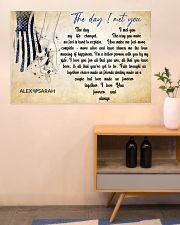 Police The day I met you 36x24 Poster poster-landscape-36x24-lifestyle-22