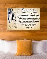 Police The day I met you 36x24 Poster poster-landscape-36x24-lifestyle-23