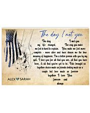 Police The day I met you Horizontal Poster tile