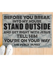 """AF Before you break into my house Doormat 34"""" x 23"""" aos-doormat-34-x-23-lifestyle-front-03"""