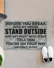 """AF Before you break into my house Doormat 34"""" x 23"""" aos-doormat-34-x-23-lifestyle-front-07"""