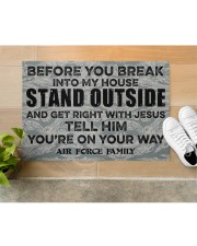 """AF Before you break into my house Doormat 34"""" x 23"""" aos-doormat-34-x-23-lifestyle-front-12"""