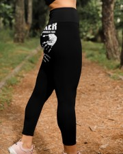 Trucker Black Trucker1011 High Waist Leggings aos-high-waist-leggings-lifestyle-21