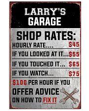 Mechanics garage 24x36 Poster front