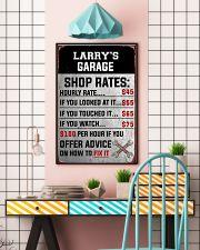Mechanics garage 24x36 Poster lifestyle-poster-6