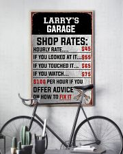 Mechanics garage 24x36 Poster lifestyle-poster-7