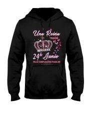 una reina-24-album-crown-T6 Hooded Sweatshirt thumbnail