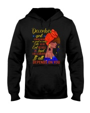 I can be mean AF2-December Hooded Sweatshirt thumbnail