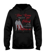 Una reina-19-album-red-T4 Hooded Sweatshirt thumbnail