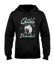 This Queen was born in - December Hooded Sweatshirt thumbnail