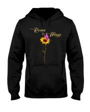 living my best life-flower-t5 Hooded Sweatshirt thumbnail