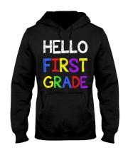 Hello first grade Hooded Sweatshirt thumbnail