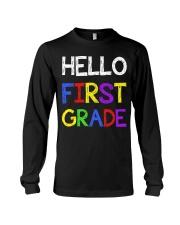 Hello first grade Long Sleeve Tee thumbnail