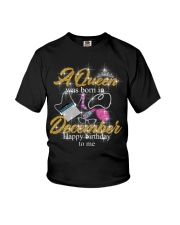 a queen was born in December 1-black-12-fix Youth T-Shirt thumbnail