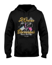 a queen was born in December 1-black-12-fix Hooded Sweatshirt thumbnail