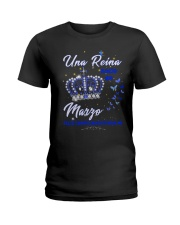 Una reina 8d -T3 Ladies T-Shirt thumbnail