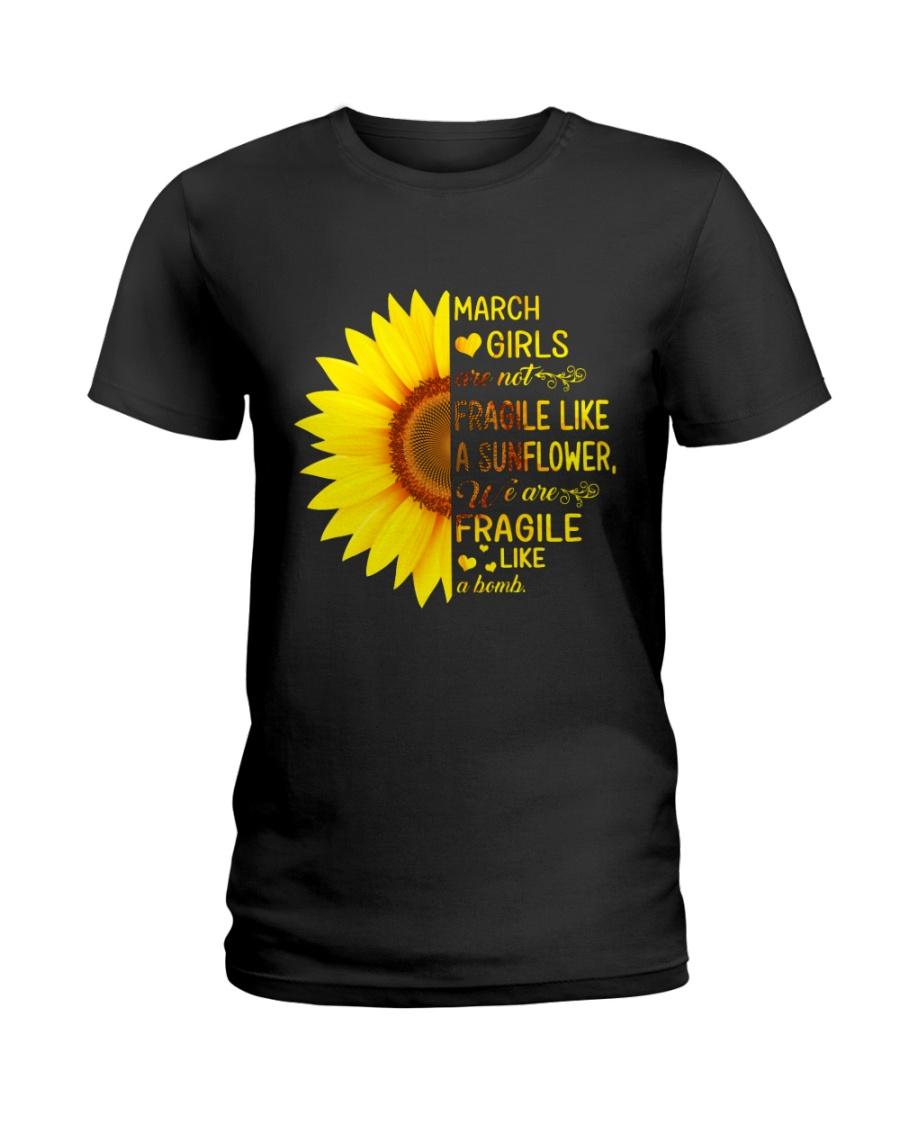 bomb sunflower-T3 Ladies T-Shirt