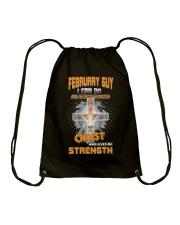 Strength guy 02-US-T2 Drawstring Bag thumbnail