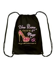 Una reina-4-album heels-T5 Drawstring Bag thumbnail