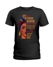 I have 3 sides -Virgo Ladies T-Shirt front