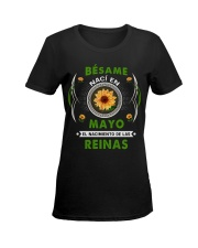 kiss me TBN -T5 Ladies T-Shirt women-premium-crewneck-shirt-front