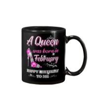 A Queen was born in-February Mug thumbnail