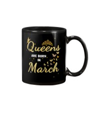 Queen are born in March yellow-T3 Mug thumbnail