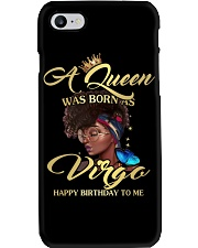 a queen was born in December 1-black-12 Phone Case thumbnail