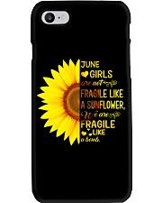 bomb sunflower-T6 Phone Case thumbnail