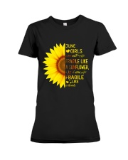 bomb sunflower-T6 Premium Fit Ladies Tee thumbnail