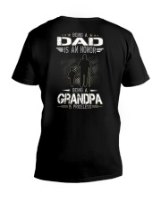 Being a Dad is an honor V-Neck T-Shirt thumbnail